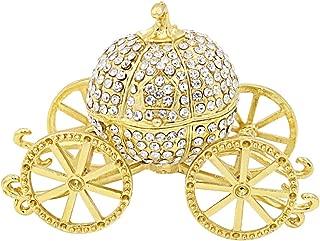 gold pumpkin carriage