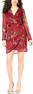 GUESS womens LONG SLEEVE CAMILLA DRESS Dress