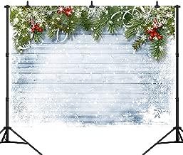 DePhoto 9X6FT(270X180CM) Merry Christmas Party Theme Customized Seamless Vinyl Photography Backdrop Photo Background Studio Prop PGT290B