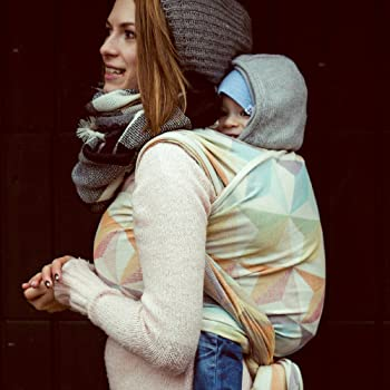 DIDYMOS Woven Wrap Baby Carrier Zephyr (Organic Cotton), Size 6