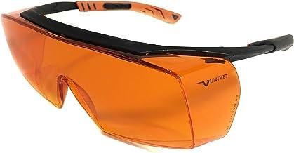 Óculos Proteção Laranja Bloqueador De Luz Azul, Escuridão Virtual Blue Control