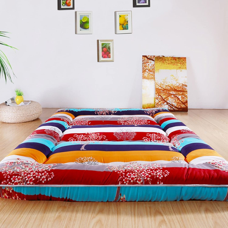 Padded Mattress Tatami Mattress Student,[Dorm Room],Floor Sleeping pad mat  Sleeping pad-G 200x220cm(79x87inch)