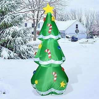 Best GOOSH 5 Ft Christmas Indoor Outdoor Inflatable Tree Decorations(5 Ft Christmas Inflatable Tree) Reviews