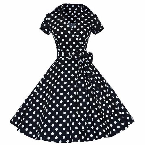 Vintage Retro Style Dress: Amazon com
