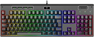 Teclado Mecânico Gamer T-Dagger Adriatic Preto RGB Switch Azul T-TGK316-BL (PT-RGB)