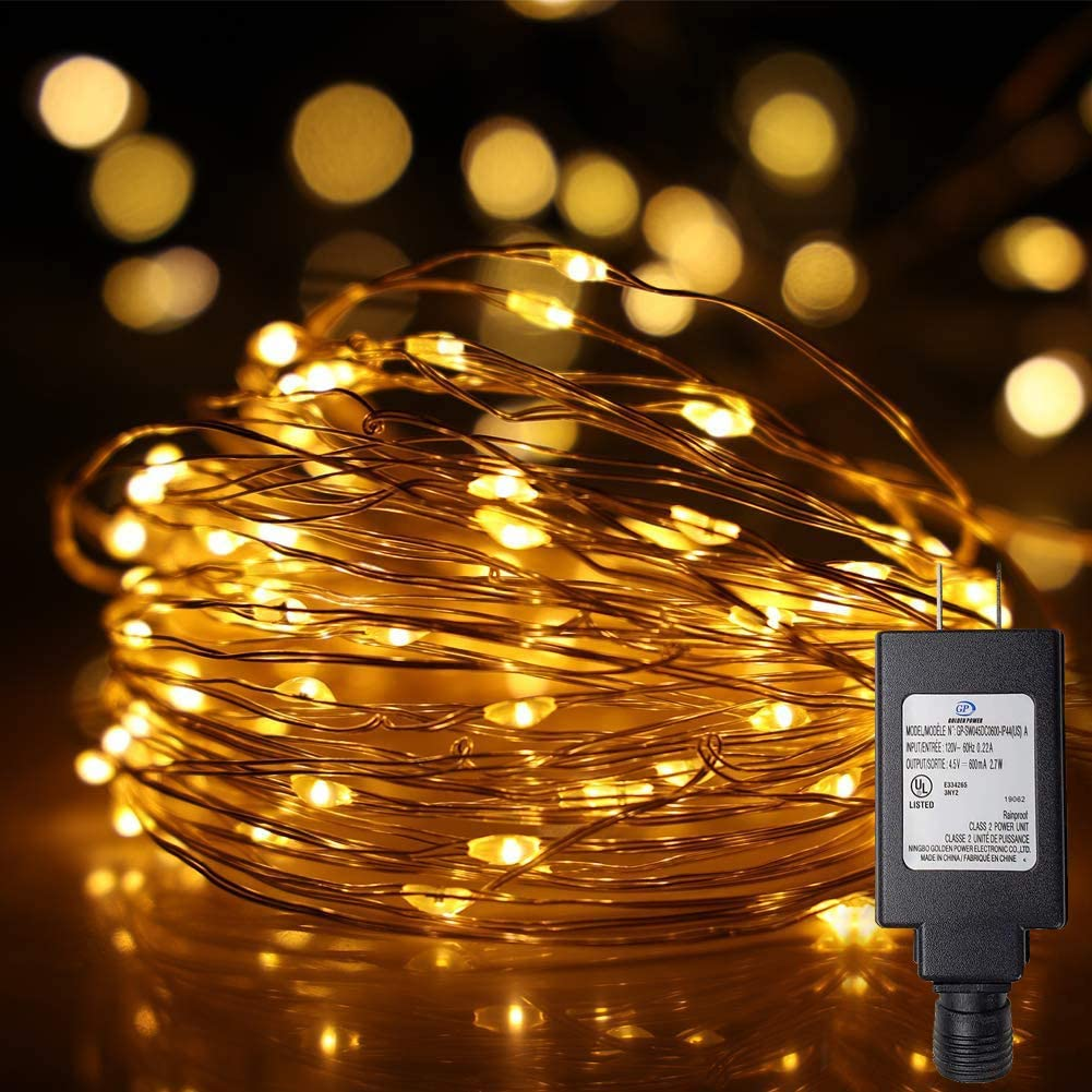 Ehome Fairy Lights Plug Recommended Genuine Free Shipping in 33Ft 100 Waterproo String Led