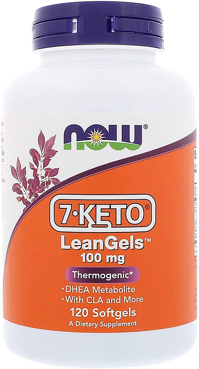 NOW NOW 7-Keto LeanGels, 120 Softgels : Health & Household