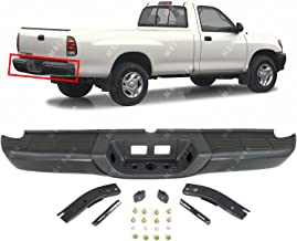 MBI AUTO - Primered, Steel Rear Step Bumper Assembly for 2000 2001 2002 2003 2004 2005 2006 Toyota Tundra Pickup 00-06, TO1103108