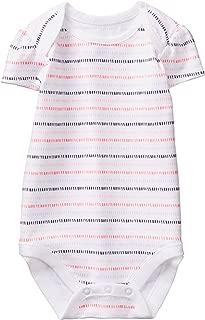 Baby Girl Short Sleeve Bodysuit