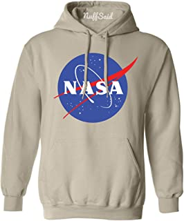 NASA Meatball Logo Worm Hooded Sweatshirt Sweater Pullover - Unisex Hoodie