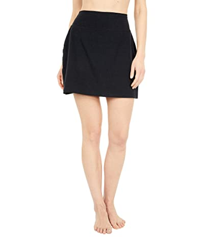 Beyond Yoga Spacedye Move It High Waisted Skirt (Darkest Night) Women
