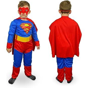 MWS 537660 Disfraz de Carnaval Motivo SUPERHEROE (3 a 12 años) - 9 ...