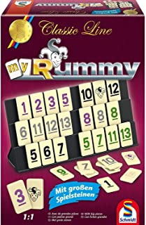 Schmidt Spiele Classic Line My Rummy, mit großen Figuren