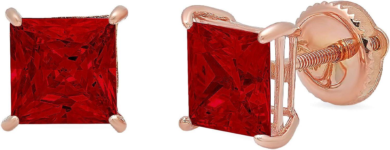 Clara Pucci 1.6 ct Brilliant Princess Solitaire Flawles Cut Finally popular brand Max 63% OFF VVS1