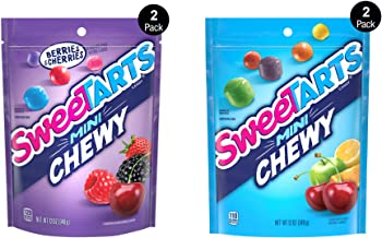 SweeTARTS Mini Chewy Variety Pack, 12 Ounce, Pack of 4