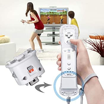 SogYupk Wii Motion Plus Adapter for Original Nintendo Wii Remote Controller(