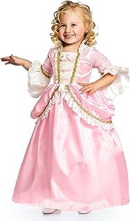 Little Adventures Pink Parisian Princess Dress up Costume for Girls (Medium Age 3-5)
