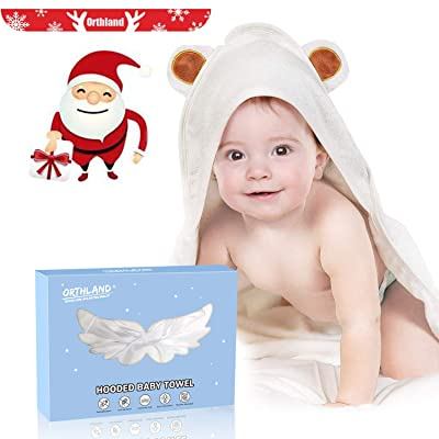 Hooded Baby Towel - Orthland Ultra Soft Baby To...