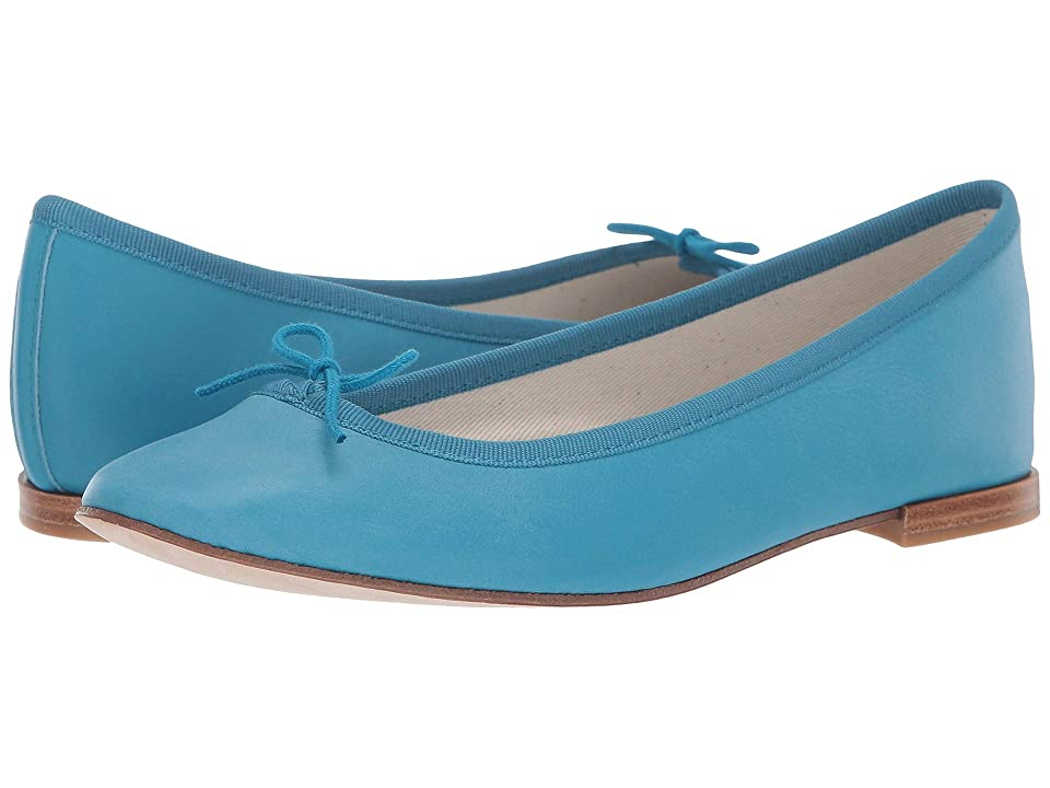 Repetto Cendrillon (Blue Calfskin) Women