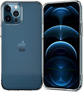 TERSELY Clear Case Cover for Apple iPhone 12 Pro/iPhone 12 (6.1 inch), Air Hybrid Slim Fit Shockproof Crystal TPU Bumper P...