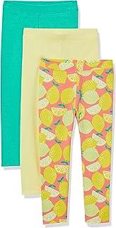 Amazon Essentials Girls' Big 3-Pack Leggings