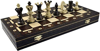 Chess Game, Royal Brown
