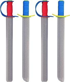 Joyibay4PCS Sword Toy Creative Funny Foam Sword Weapon Toy Pretend Play Toy for Kids