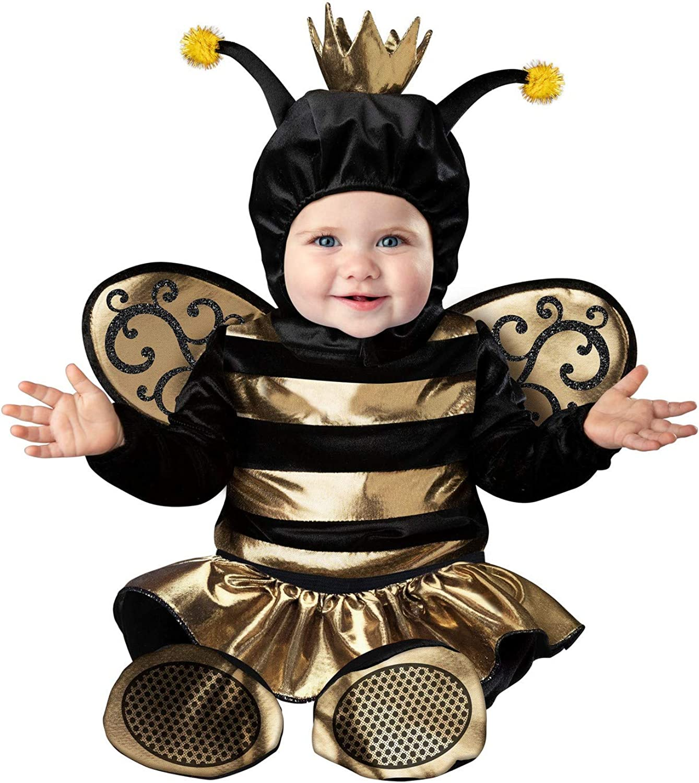 Fun World Baby Queen Bee Costume for Infants