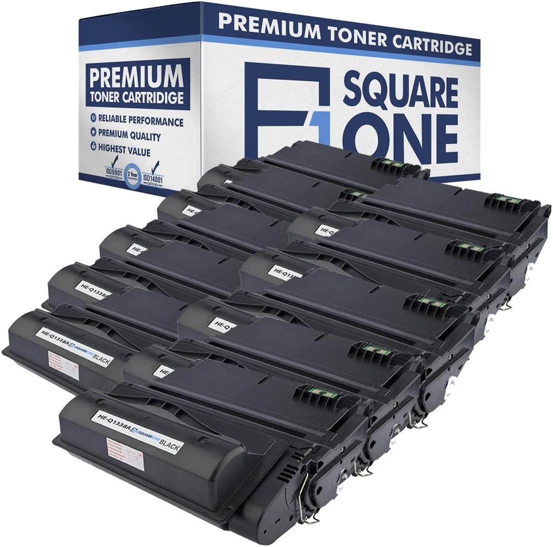 高額売筋 eSquareOne Compatible Toner Cartridge Replacement ギフ_包装 for 38A HP Q13
