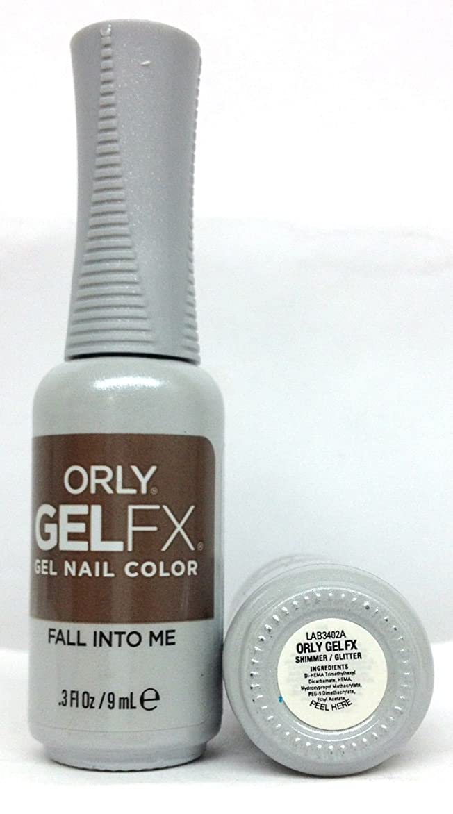 噂居眠りする不正直ORLY GelFX - The New Neutral Collection - Fall Into Me - 9 ml / 0.3 oz