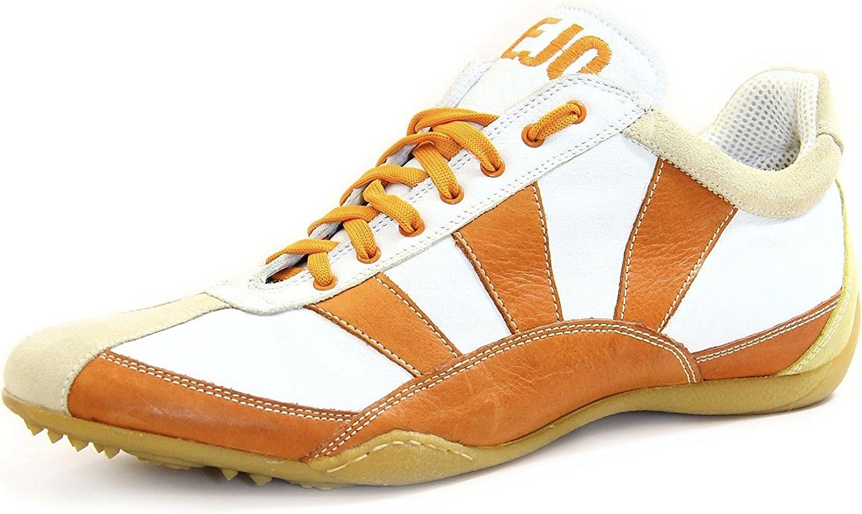 Kejo shoes Men's Sneaker Leather Green