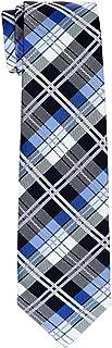 Retreez Elegant Tartan Plaid Check Woven Microfiber Boy's Tie - 8-10 years