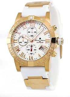 [サルバトーレマーラ]Salvatore Marra 腕時計 SM17111-PGWH-WH クロノグラフ メンズ【並行輸入品】