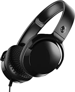 Skullcandy Riff On-Ear Headphones, Black (S5PXY-L003)