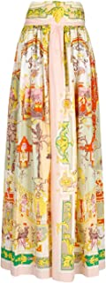 Etro Luxury Fashion Donna 141654434650 Multicolor Cotone Gonna | Ss21
