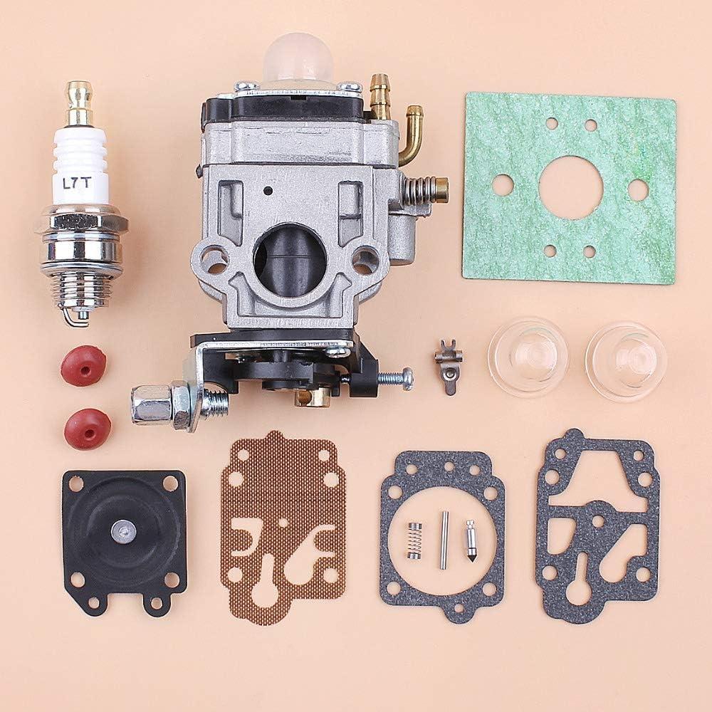 BLTR Carb Kit de reparación carburador for CG430 CG520 43cc 52cc 47cc 49CC 40-5 44-5 Motor 2 Tiempos Motor China desbrozadora Cortadora de cesped De Confianza