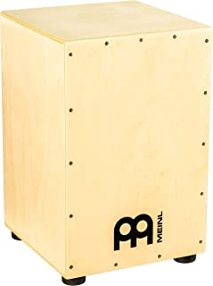 Meinl Percussion HCAJ1NT - Cajón de madera con parche natural