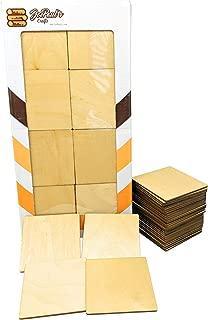 Birch Plywood Squares (32 Pieces) - 3