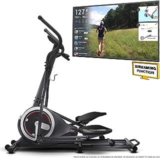 comprar comparacion Sportstech Bicicleta Elíptica para Casa | Elíptica con Video Eventos y App Multijugador | 24 kg de Masa de Volante | 26 pr...