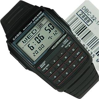 DATA BANK(データバンク)CASIO(カシオ)腕時計 DBC-32-1A レトロウォッチ 電話帳 計算機 高性能多機能 ブラック・黒 チープカシオ チプカシ [並行輸入品]