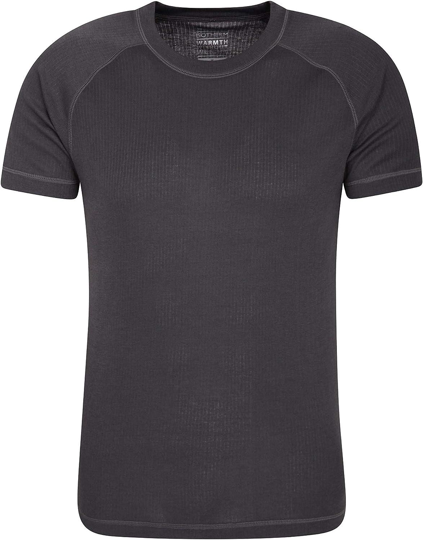 Mountain Warehouse Talus Mens Baselayer Top - Breathable Tshirt