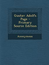 Gustav Adolfs Page - Primary Source Edition