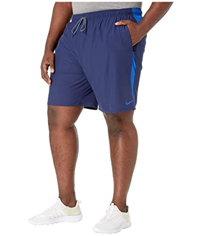 Nike Big Tall 9 Contend Volley Shorts (Midnight Navy) Men