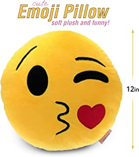 Best emoji pillow collection Reviews