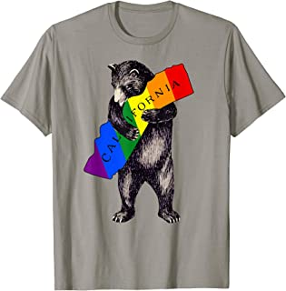 Rainbow Love California Shirt-1913 Vintage Cali Bear T Shirt