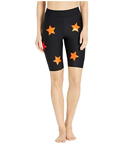 Ultracor Aero Lux Knockout Shorts (Nero/Neon Orange) Women