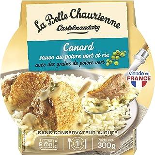 La Belle Chaurienne Canard Sauce au Poivre Vert/Riz 300 g