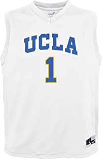 NCAA by Outerstuff NCAA Ucla Bruins Youth boys Chase Basketball Jersey, White, Youth Large(14-16)