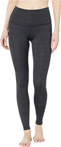 Black Heather Surf Stripe