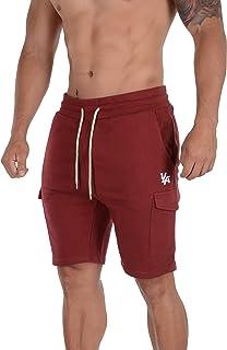YoungLA Cargo Shorts Men Pockets Gym Workout Running Training 122